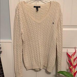 Lauren Ralph Lauren Cable Knit Sweater